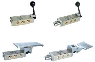 T series hand valve / foot valve
