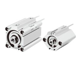气缸-CQ2系列 新款标准薄型气缸(双作用 单杆型 缸径12~100)