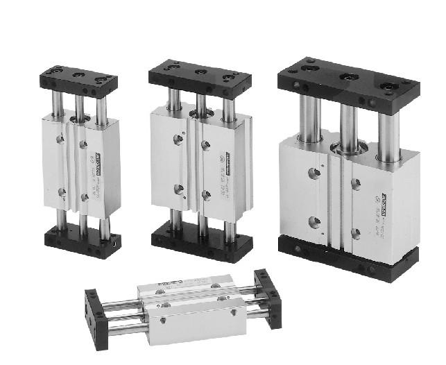 双导杆滑台气压缸快易优自动化选型大全图片